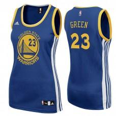 Women's Golden State Warriors #23 Draymond Green Blue  Road Jersey