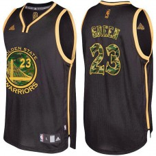 Draymond Green Golden State Warriors Black Camo Fashion Jersey