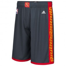 Golden State Warriors 2015 Chinese New Year Swingman Gray Shorts