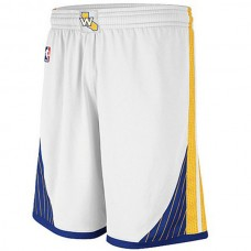 Golden State Warriors Home white Swingman shorts