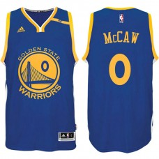 Golden State Warriors #0 Patrick McCaw Blue Road Jersey