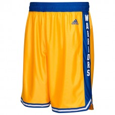 Golden State Warriors Hardwood Classic Gold Shorts