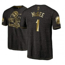 Golden State Warriors #1 JaVale McGee 2018 Champions T-Shirt