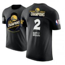 Golden State Warriors #2 Jordan Bell 2018 Champions T-Shirt