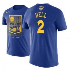 Golden State Warriors #2 Jordan Bell City T-Shirt