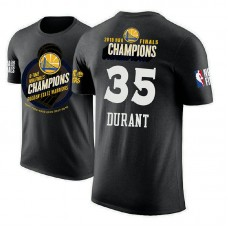 Golden State Warriors #35 Kevin Durant 2018 Champions T-Shirt