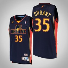 Golden State Warriors #35 Kevin Durant We Believe Jersey