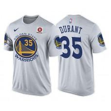 Golden State Warriors #35 Kevin Durant Association T-Shirt