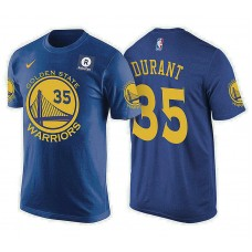 Golden State Warriors #35 Kevin Durant Icon T-Shirt
