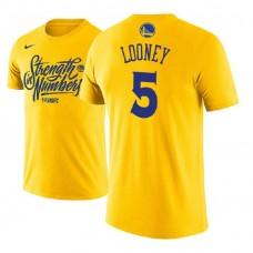Kevon Looney Golden State Warriors Gold 2018 Playoffs Mantra Legend T-Shirt