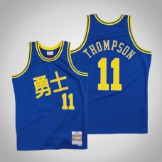 Golden State Warriors #11 Klay Thompson Chinese New Year Jersey