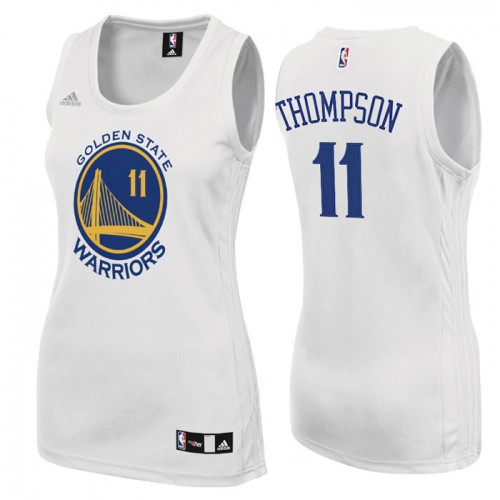Women's Golden State Warriors #11 Klay Thompson Home Jersey