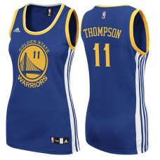 Women's Golden State Warriors #11 Klay Thompson Blue  Road Jersey