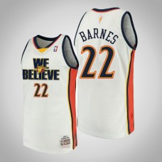 Golden State Warriors #22 Matt Barnes We Believe Jersey