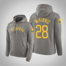 Golden State Warriors #28 Alfonzo McKinnie Earned Hoodie