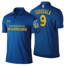 Golden State Warriors #9 Andre Iguodala Icon Polo
