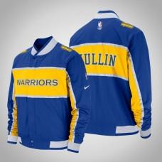 Chris Mullin Golden State Warriors #17 Royal Courtside Icon Jacket