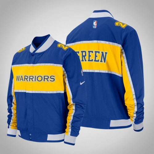 Draymond Green Golden State Warriors #23 Royal Courtside Icon Jacket