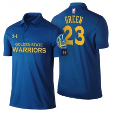 Draymond Green Golden State Warriors #23 Icon Edition Royal Performance Polo