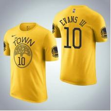 Golden State Warriors #10 Jacob Evans III Earned T-Shirt