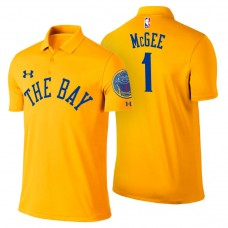 Golden State Warriors #1 JaVale McGee City Polo