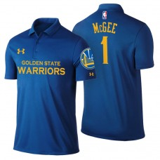 Golden State Warriors #1 JaVale McGee Icon Polo