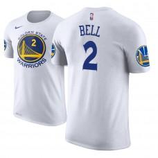 Golden State Warriors #2 Jordan Bell Association T-Shirt