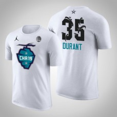 Golden State Warriors #35 Kevin Durant 2019 All-Star T-Shirt