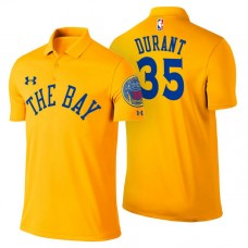 Golden State Warriors #35 Kevin Durant City Polo