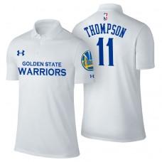 Golden State Warriors #11 Klay Thompson Association Polo