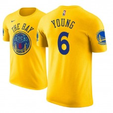 Golden State Warriors #6 Nick Young City T-Shirt