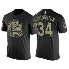 Golden State Warriors #34 Shaun Livingston Name & Number T-Shirt