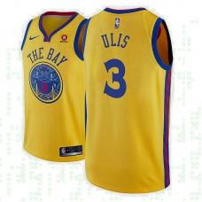Tyler Ulis Golden State Warriors City Gold Jersey