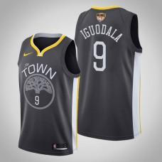 Golden State Warriors Andre Iguodala #9 Black 2019 Finals Jersey  -  Statement