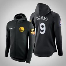 Golden State Warriors Andre Iguodala #9 Black 2019 Finals Therma Flex Hoodie