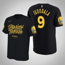 Golden State Warriors #9 Andre Iguodala Playoffs Bound T-Shirt