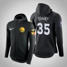 Golden State Warriors Kevin Durant #35 Black 2019 Finals Therma Flex Hoodie