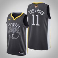 Golden State Warriors Klay Thompson #11 Black 2019 Finals Jersey  -  Statement