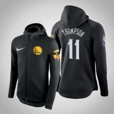 Golden State Warriors Klay Thompson #11 Black 2019 Finals Therma Flex Hoodie