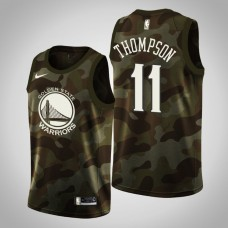 Golden State Warriors #11 Klay Thompson Camo 2019 Memorial Day Jersey