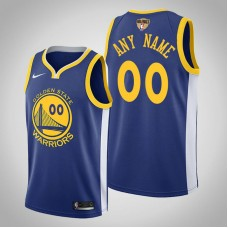 Golden State Warriors Custom #00 Royal 2019 Finals Jersey  -  Icon