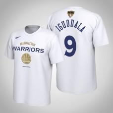 Golden State Warriors Andre Iguodala #9 2019 Finals Bound White T-Shirt