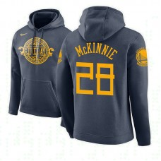 Golden State Warriors #28 Alfonzo McKinnie City Hoodie