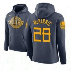 Golden State Warriors #28 Alfonzo McKinnie City Hoodie