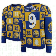 Golden State Warriors #9 Andre Iguodala 2018 Christmas Sweater