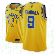Andre Iguodala Golden State Warriors Hardwood Classic Gold Jersey