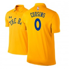 Golden State Warriors #0 DeMarcus Cousins City Polo