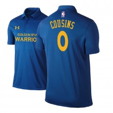 Golden State Warriors #0 DeMarcus Cousins Royal Icon Polo