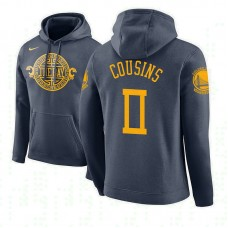 Golden State Warriors #0 DeMarcus Cousins City Hoodie