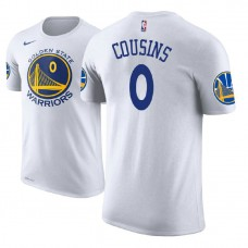 Golden State Warriors #0 DeMarcus Cousins Association T-Shirt
